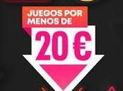 Videojuegos menos euros