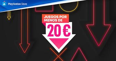 Videojuegos de PS4 y PS5 a menos de 20 euros