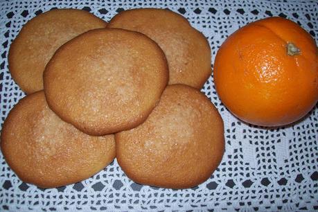 Españoletas de naranja