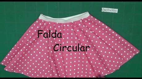 Falda De Satin Para Nina Verde