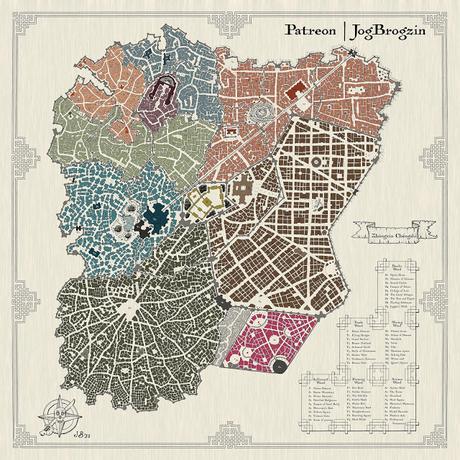 Zhongxin Chengshi: Complete Map Collection, de Jog Brogzin