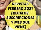 Revistas Febrero 2021 (Regalos, suscripciones viene)