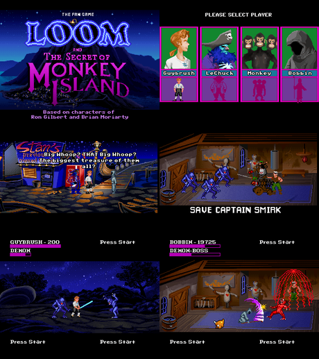[Fangame] Loom and the Secret of Monkey Island