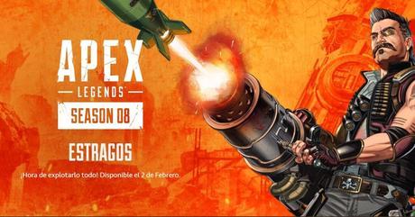 Apex Legends presenta en vídeo el primer trailer de su temporada 8