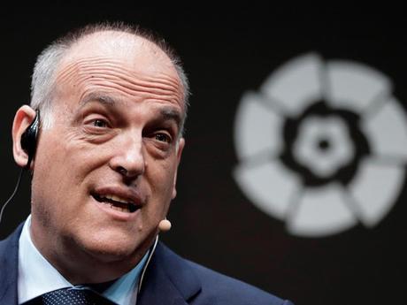 Javier Tebas: 'En esta situación no se puede plantear una vuelta a los estadios'