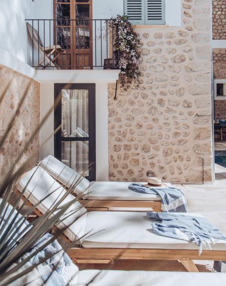 Un espectacular casa de pueblo en Mallorca