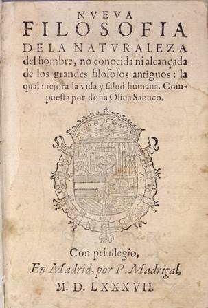 FILOSOFÍA DE LA NATURALEZA HUMANA POR MIGUEL SABUCO