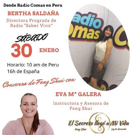Entrevista en Radio Comas de Perú