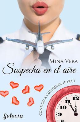 Reseña   Sospecha en el aire, Mina Vera