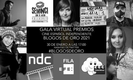 Gala Virtual Premios de Cine español Independiente Blogos de Oro 2021