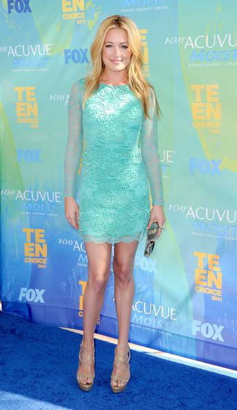 TV Personality Cat Deeley arrives at the 2011 Teen Choice Awards held at the Gibson Amphitheatre on August 7, 2011 in Universal City, California.