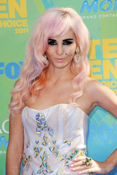 Audrey Kitching arrives at the 2011 Teen Choice Awards held at the Gibson Amphitheatre on August 7, 2011 in Universal City, California.