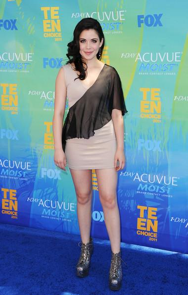 Actress Grace Phipps arrives at the 2011 Teen Choice Awards held at the Gibson Amphitheatre on August 7, 2011 in Universal City, California.