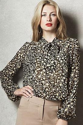 Limited Collection star print blouse