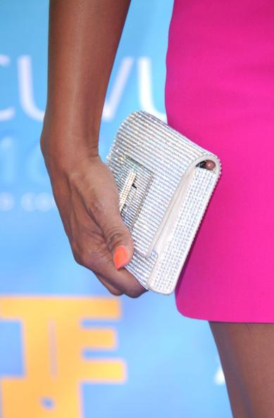 Actress Tiffany Hines arrives at the 2011 Teen Choice Awards held at the Gibson Amphitheatre on August 7, 2011 in Universal City, California.
