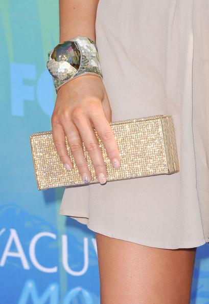 Actress Alexa Vega (fashion detail) arrives at the 2011 Teen Choice Awards held at the Gibson Amphitheatre on August 7, 2011 in Universal City, California.