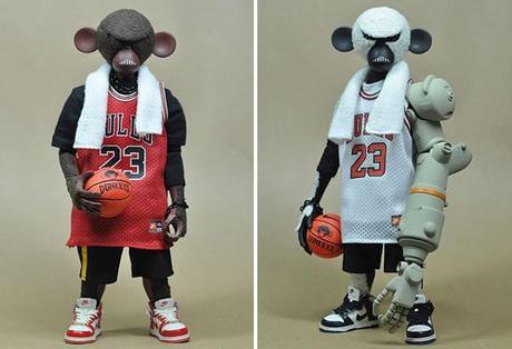 capa animación Calor  Nike Dunkeys Series :: muñecos amantes del básquet - Paperblog
