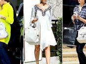 Jessica Alba adora bolso Loewe