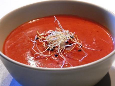 La elaboración del gazpacho hace perder contenido de vitamina C a sus ingredientes
