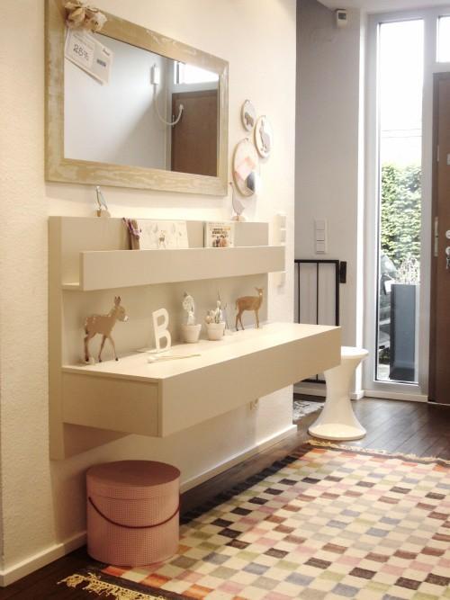 Ikea hack mesillas malm en el recibidor paperblog - Mesilla malm ikea ...