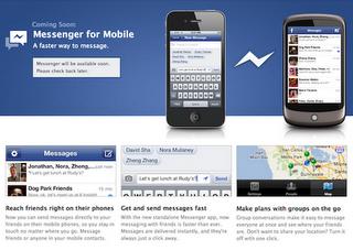 Facebook lanza el Facebook Messenger