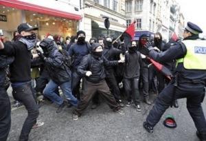 BB Messenger en los disturbios de Londres