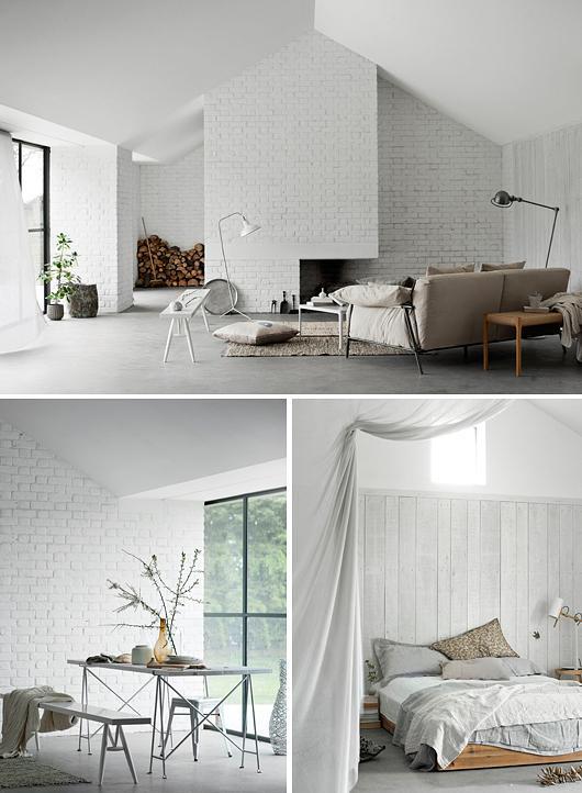 Ladrillo blanco en las paredes paperblog - Pared ladrillo blanco ...