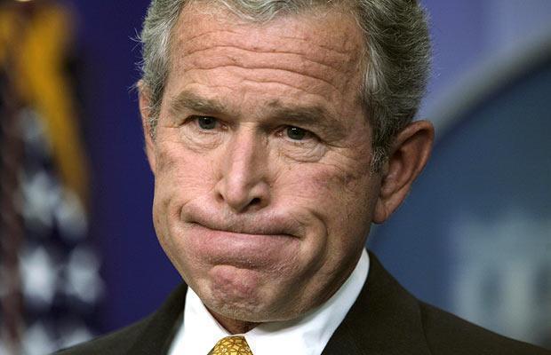 Situaciones insólitas de mandatarios: George W. Bush