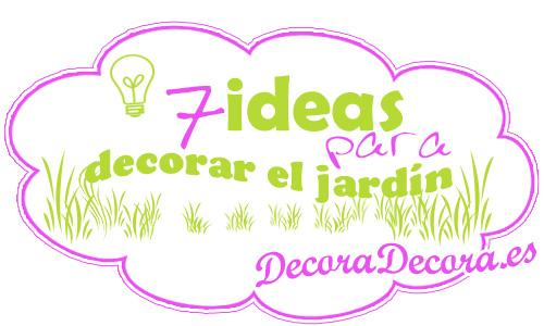 Ideas para decorar un recibidor pequeo decorar auto for Ideas para decorar jardines
