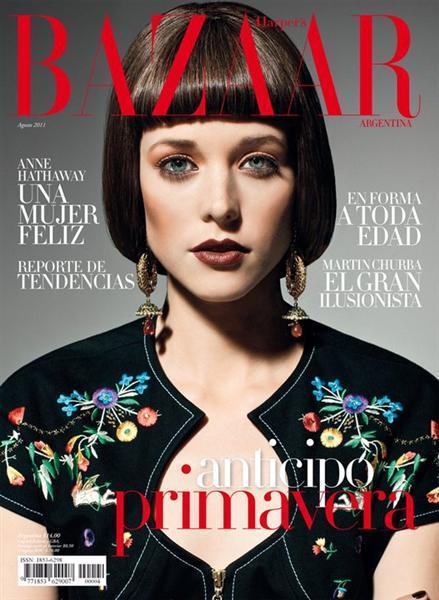 Harper s bazaar argentina april 2011 cover harper 39 s for Bazaar argentina