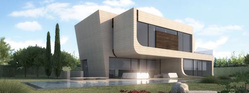 A cero presenta una nueva vivienda unifamiliar en gij n - Viviendas unifamiliares modernas ...