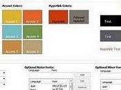 Crea temas para aplicaciones Microsoft Office (Word, Excel, PowerPoint,)