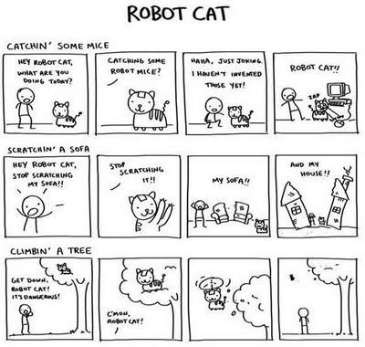 Can I haz a robot cat?