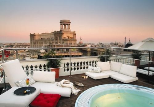 Le Blog Mademoiselle The Magic Terraces Of Barcelona