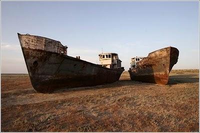 El desastre del mar de Aral