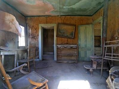 Bodie ghost town, California.