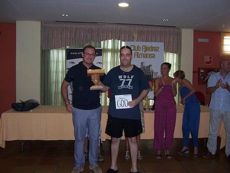 Pablo Cruz Lledo gana el VI Torneo de Promoción de Ajedrez Almansa 2011