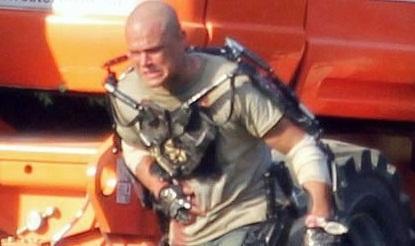 Matt Damon da mal rollo en las primeras imágenes de Elysium
