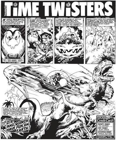 Los mundos prehistóricos de Alan Moore