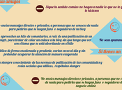 Infografía mejores consejos para spammer social