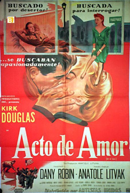 ACTO DE AMOR - Anatole Litvak
