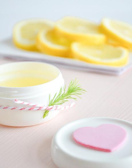 Crema de manos de limón, un regalo perfecto para San Valentin