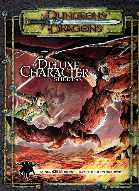 Deluxe Character Sheets, de WotC