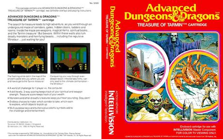 AD&D: Cloudy Mountain y  Treasure of Tarmin de Mattel Electronics