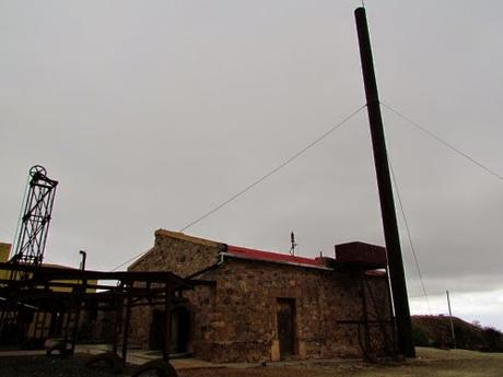 Estación 2 del Cable Carril de Chilecito. La Rioja