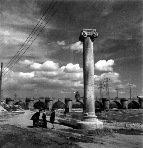 Las misteriosas columnas de Madrid