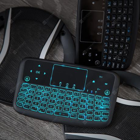 «Alfawise A9 New Touch 2.4GHz Wireless Keyboard Flying Mouse»