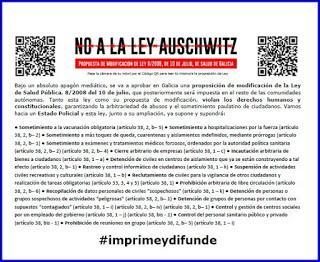 Ley Auschwitz: campos de concentración Covid-19 en España