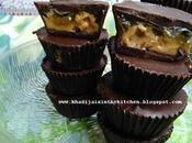 Bouchées chocolat beurre d'arachides confiture peanut butter chocolate bites bocaditos mermelada maní الشوكولاتة محشية بزبدة الفول السوداني المربى