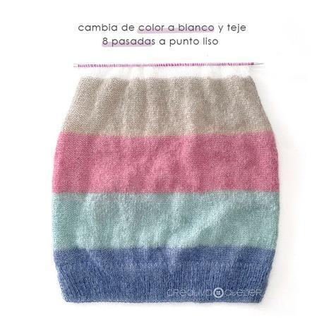 Jersey de Punto CANDY CLOUD – Patrón y Tutorial –